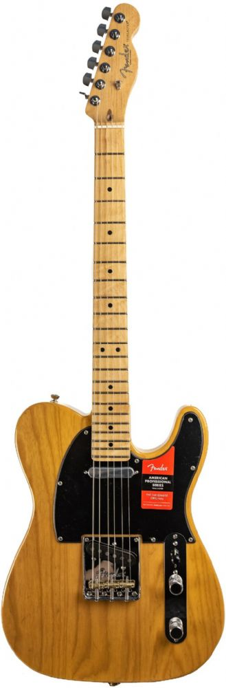 Fender American Professional Telecaster Butterscotch Blonde Maple
